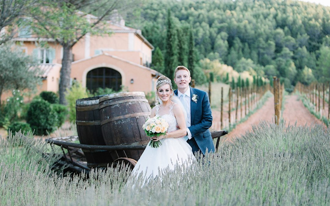 Fairytale wedding in Provence