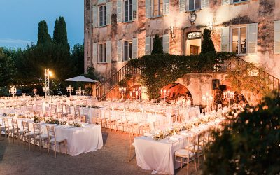 Elegant wedding in a Bastide