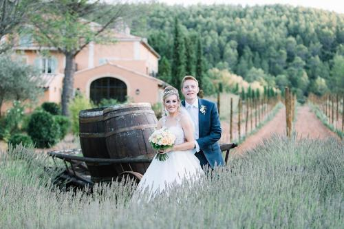 1 Photo présentation lavender field wedding Provence