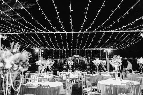 1 Photo présentation villa cap antibes wedding reception light ceiling rock my love